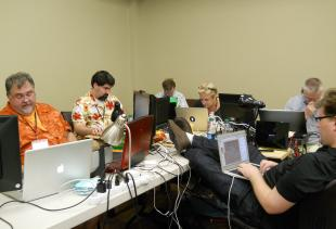 During the Aging in Place competition, coders worked 27 hours straight