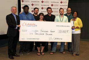 Teamwork Solutions wins CajunCodeFest 3.0